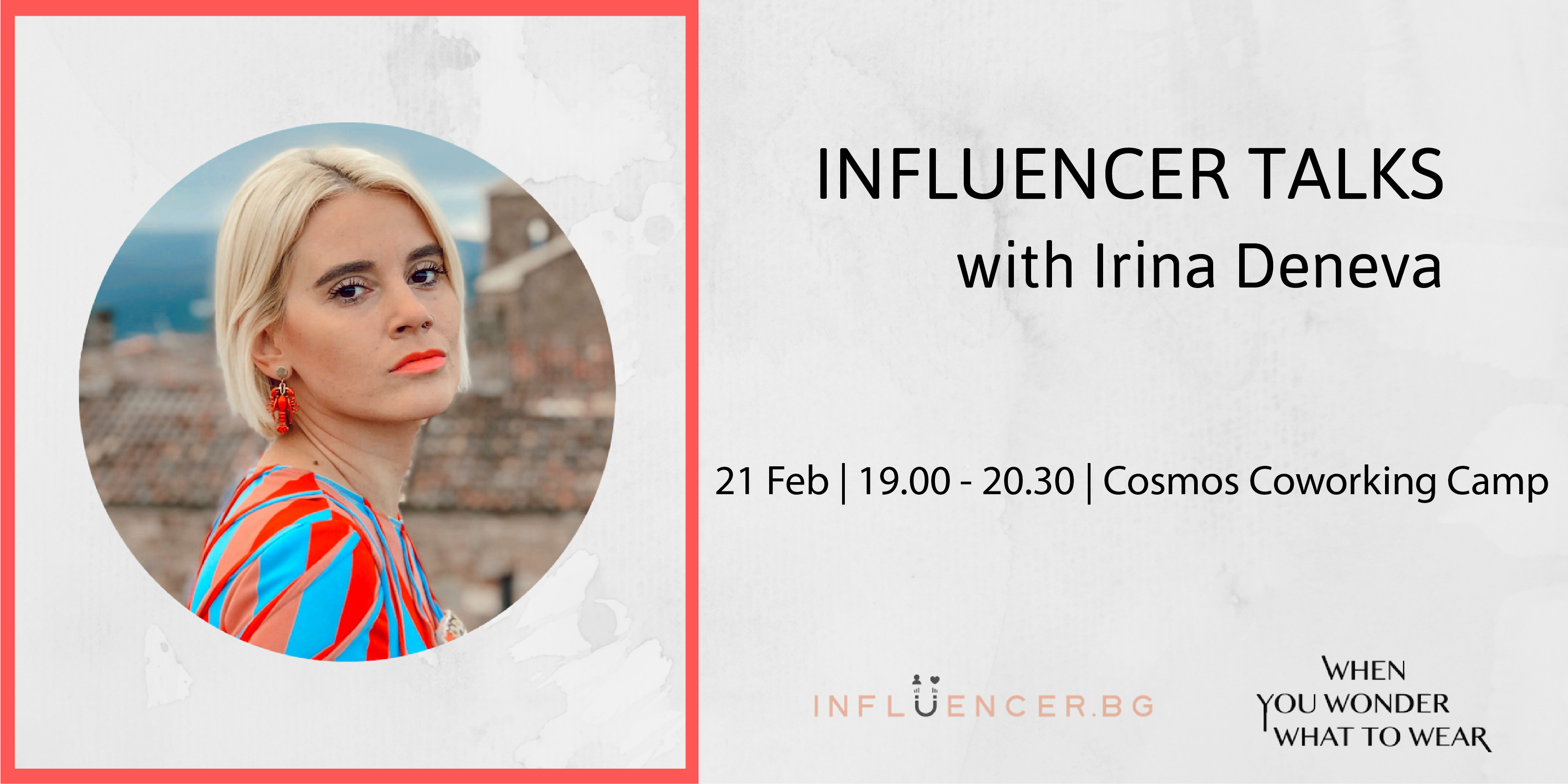 Influencer Talks with Irina Deneva